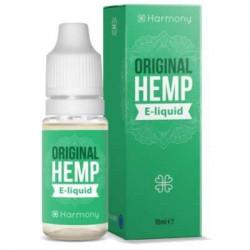 E-LÍQUIDO HARMONY CBD SABOR ORIGINAL HEMP 300mg 10ml Sin Nicotina