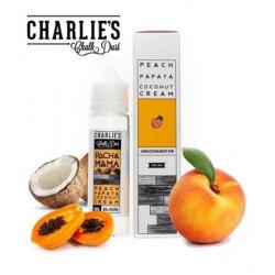E-líquido PACHAMAMA Peach, Papaya, Coconut Cream formato TPD 50ml Sin Nicotina