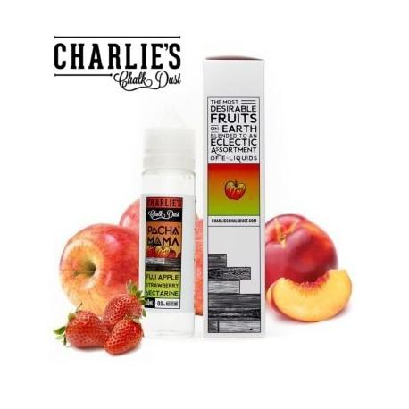 E-líquido PACHAMAMA Fuji Apple, Strawberry, Nectarine formato TPD 50ml Sin Nicotina