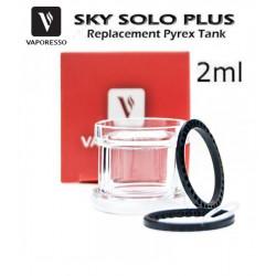 Depósito de pyrex para Vaporesso Sky Solo Plus 2ml