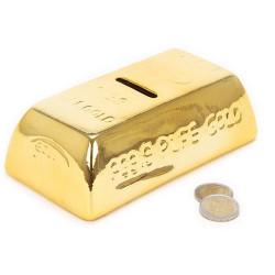 Hucha Cerámica Lingote de Oro
