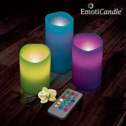 Velas LED EmotiCandle (pack de 3)