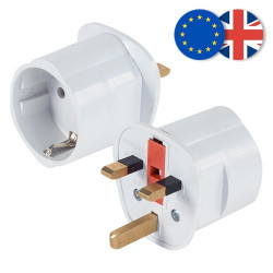 Adaptador Enchufe UK