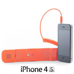 Auricular Antiradiación compatible con iPhone Rosa