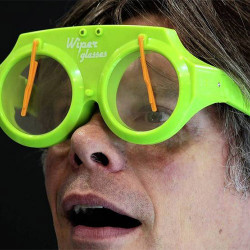 Gafas con Parabrisas Wiper Glasses Azul