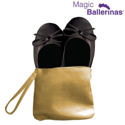 Zapatillas Bailarinas Manoletinas Magic Ballerinas Negro S