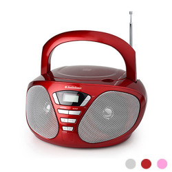 Radio CD Stereo AudioSonic CD1569 Gris