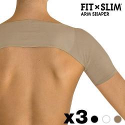Moldeador Antiflacidez Brazos Fit X Slim (pack de 3) S