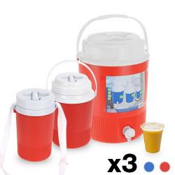 Barriles Bebidas Camping (3 piezas)