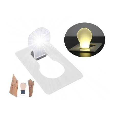 Lámpara de Leds Portátil tamaño Tarjeta