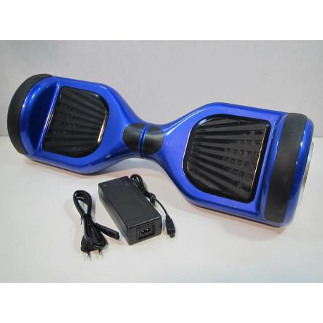 """Hoverboard reacondicionado 6,5"""" azul CARCASA ROZADA"""