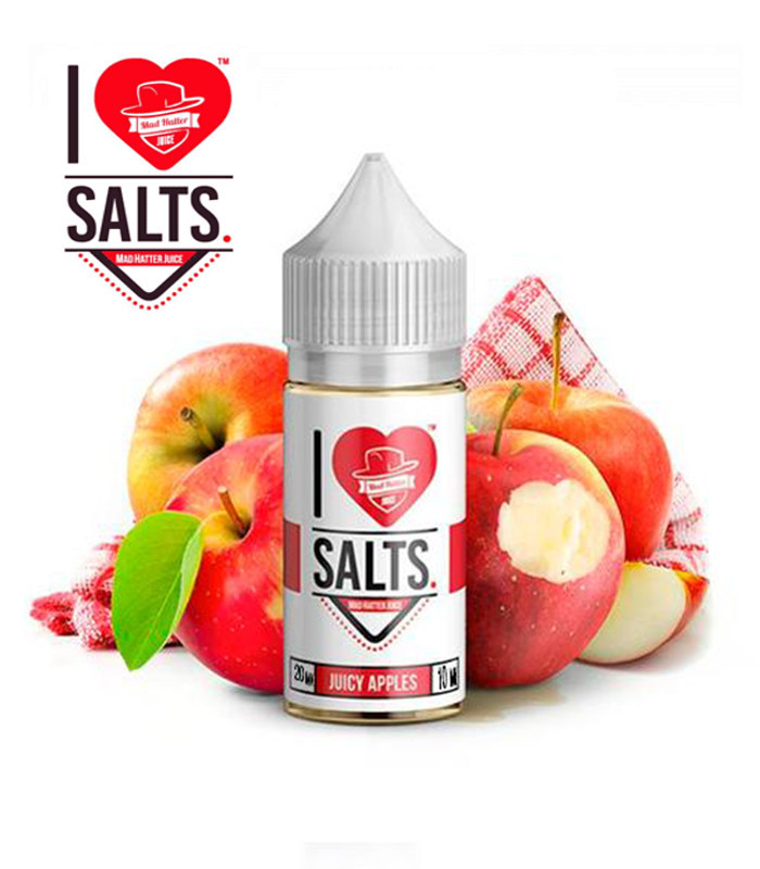 E-líquido Mad Hatter I Love Salts Juicy Apples 20mg/ml 10ml